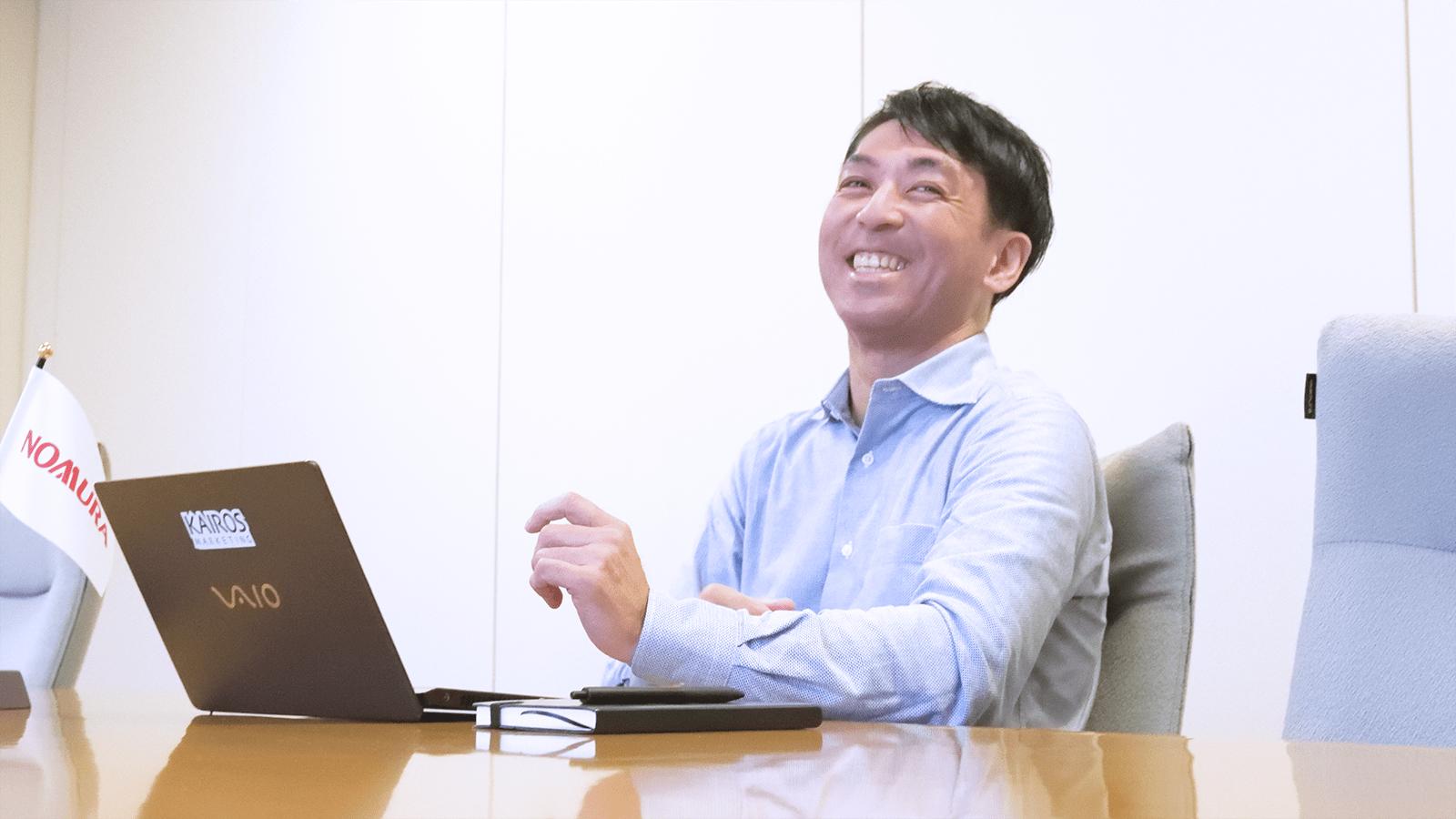 thumnail:野村インベスター・リレーションズ株式会社さまの事例取材風景