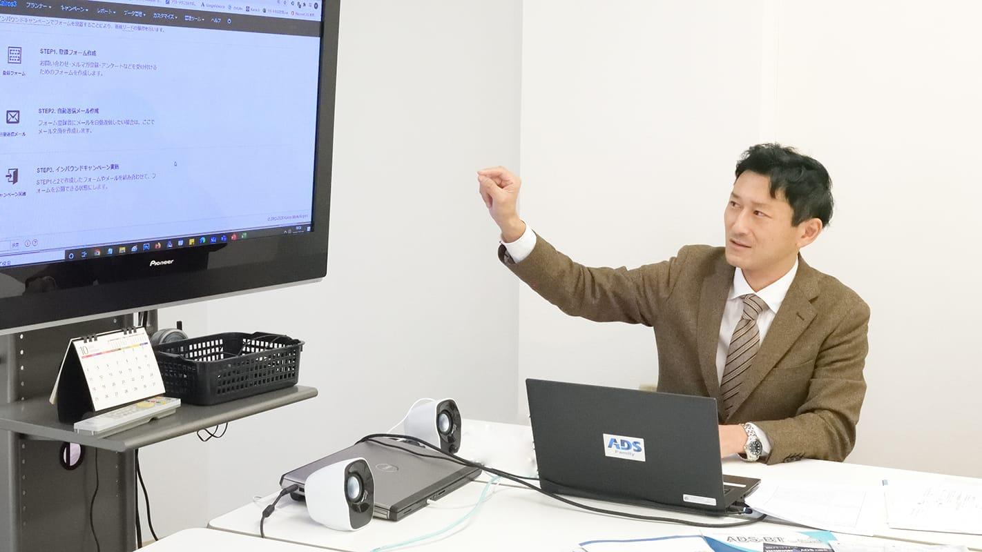 thumnail:生活産業研究所株式会社さまの事例取材風景