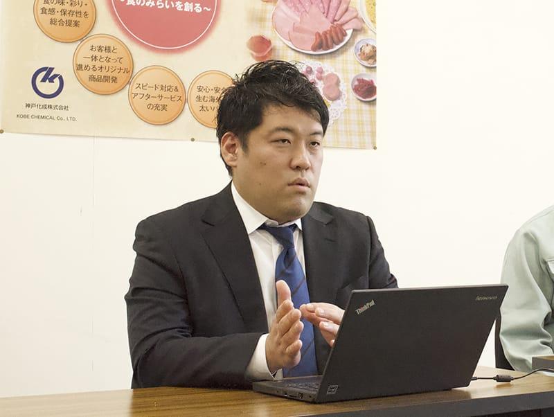 thumnail:神戸化成株式会社さまの事例取材風景